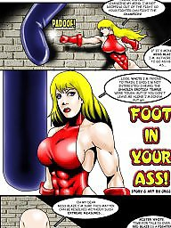 Comic, Comics, Cartoons, Funny, Catfight