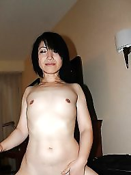 Hairy, Japanese, Japanese milf, Japanese wife, Asian wife, Hairy wife