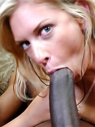 Blowjob, Suck, Milf blowjob, Sucking, Black cock, Interracial blowjob