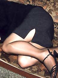 Tights, Suit, Uk wife, Amateur pantyhose