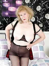 Mature, Old granny, Grannies, Granny stockings, Old grannies, Pearl