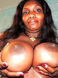 Ebony milf, Black milf, Black amateur