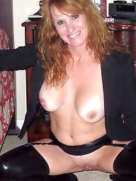 Redhead, Sexy mature, Mature redhead, Stockings mature, Redhead mature, Stocking mature