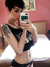 Short hair, Hair, Shorts, Short