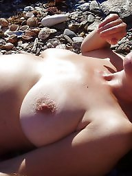 Beach, Mature beach, Topless, Beach mature
