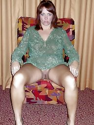 Mom, Mature hairy, Mom stocking, Milf mom, Hairy mom