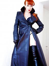 Leather, Pvc, Femdom milf, Milf leather