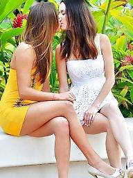 Lesbian, Tongue, Swap, Girls