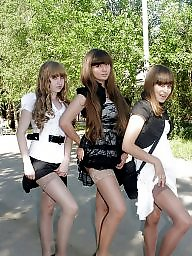 Nylon, Nylons, Teen nylon, Nylon teen, Teen stockings, Amateur nylon