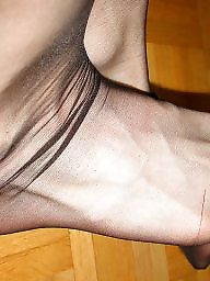 Nylon feet, Pantyhose, Nylon, Stockings, Legs, Feet nylon