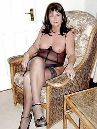 Milf stockings, Mature stocking, Matures