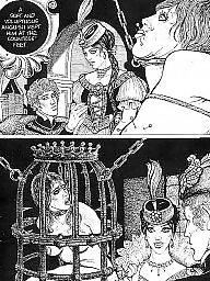 Comics, Comic, Cartoons, Bdsm cartoon, Vintage, Cartoon bdsm