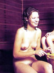 Sauna, Russian amateur, Russians