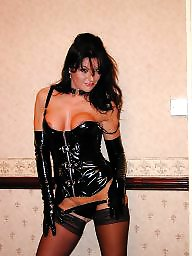Latex, Pvc, Leather, Mature pvc, Mature leather, Mature latex