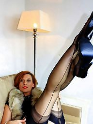 Femdom, Slave, Milf stockings, Stockings milf, Slaves, Licking