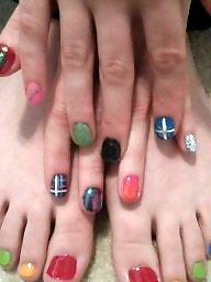 Feet, Voyeur, Mature feet