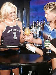 Bar, Threesome, Group