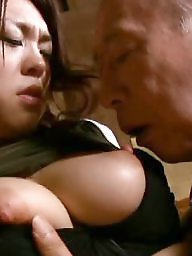 Old man, Erotic, Old tits, Old wife, Man, Asian wife