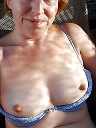 Mature boobs, Mature ladies