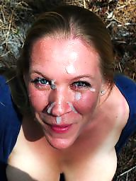 Facial, Facials, Sperm, Face, Faces, Amateur facial