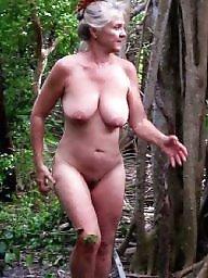 Lady, Mature lady, Mature naked