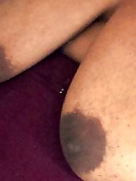 Black, Black bbw, Nipples, Big nipples, Areola
