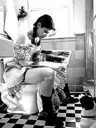 Toilet, Public flashing