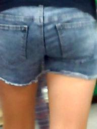 Jeans, Hidden, Girl, Teen ass, Girls, Cam