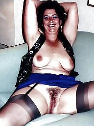 Hairy, Hairy mature, Stocking mature