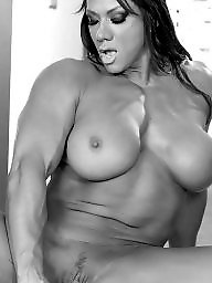 Muscle, Muscles, Muscled milf, Muscled