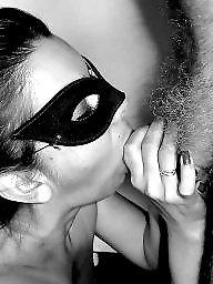 Hidden, Blowjobs, Mask