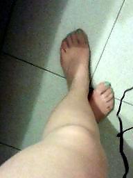 Legs, Leggings, Stocking feet