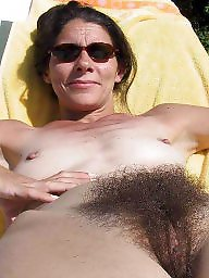 Mature beach, Natural tits, Natural