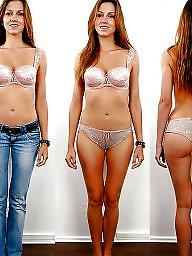 Dressed undressed, Dress, Czech, Beach, Dress undress, Undressing
