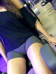 Cameltoe, Gym, Teen amateur, Camel