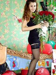 Lingerie, Heels, Stockings, Amateur lingerie, Teen lingerie