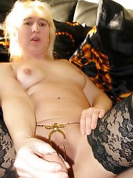 Housewife, German, German mature, Used, German milf, Blonde mature