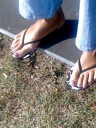 Feet, Candid, Candid feet, Milf feet