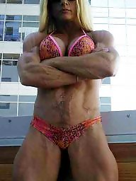Piercing, Pierced, Female, Bodybuilding
