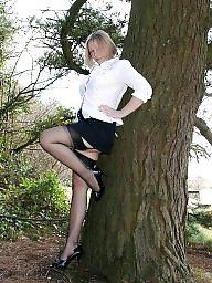Nylon, Heels, High heels, Dress, Legs, Leg