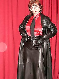 Latex, Pvc, Boots, Leather, Mature, Mature pvc