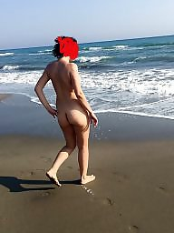 Turkish, Wife beach, Wife flashes
