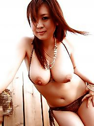 Star, Japanese beauty, Asian tits