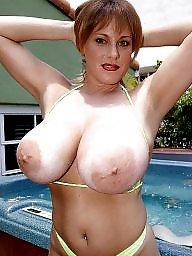 Big nipples, Areola