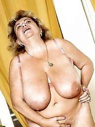 Granny boobs, Granny stockings, Big granny, Mature stocking, Mature boobs, Grab