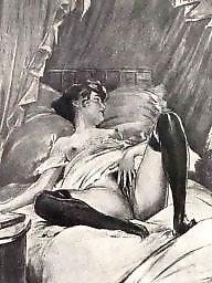 Erotic, Drawings, Drawing, Draw, Vintage cartoons