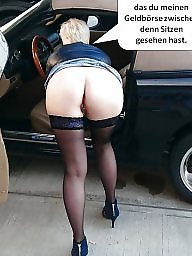 Caption, German, Milf amateur, German captions, German caption
