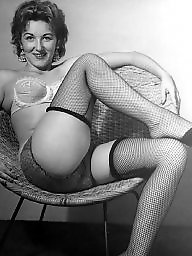 Ladies, Vintage amateur, Chair