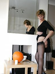 Uk mature, Stockings mature, Stocking mature, Halloween