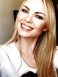 Russian boobs, Bitch, Blonde interracial